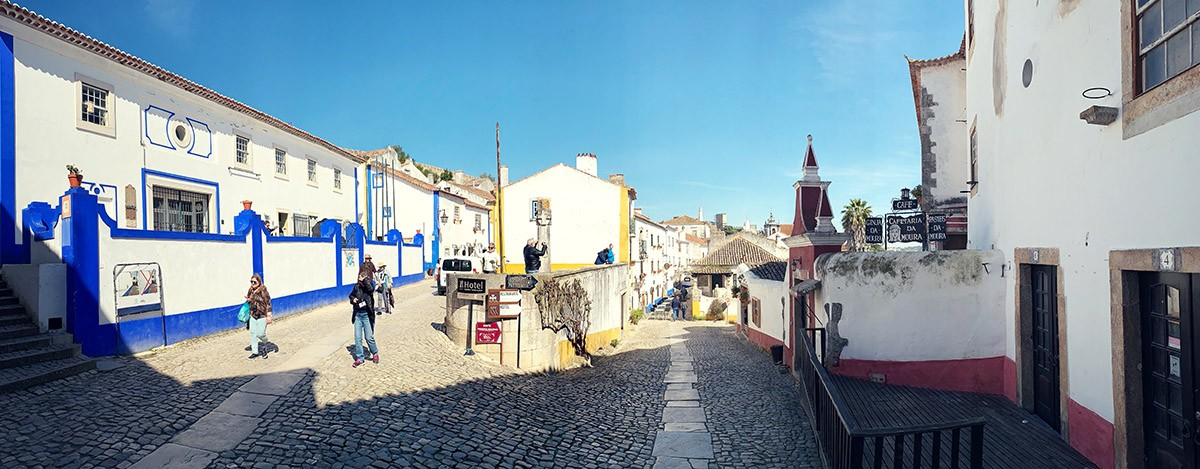 Obidos, tasting of sour cherry