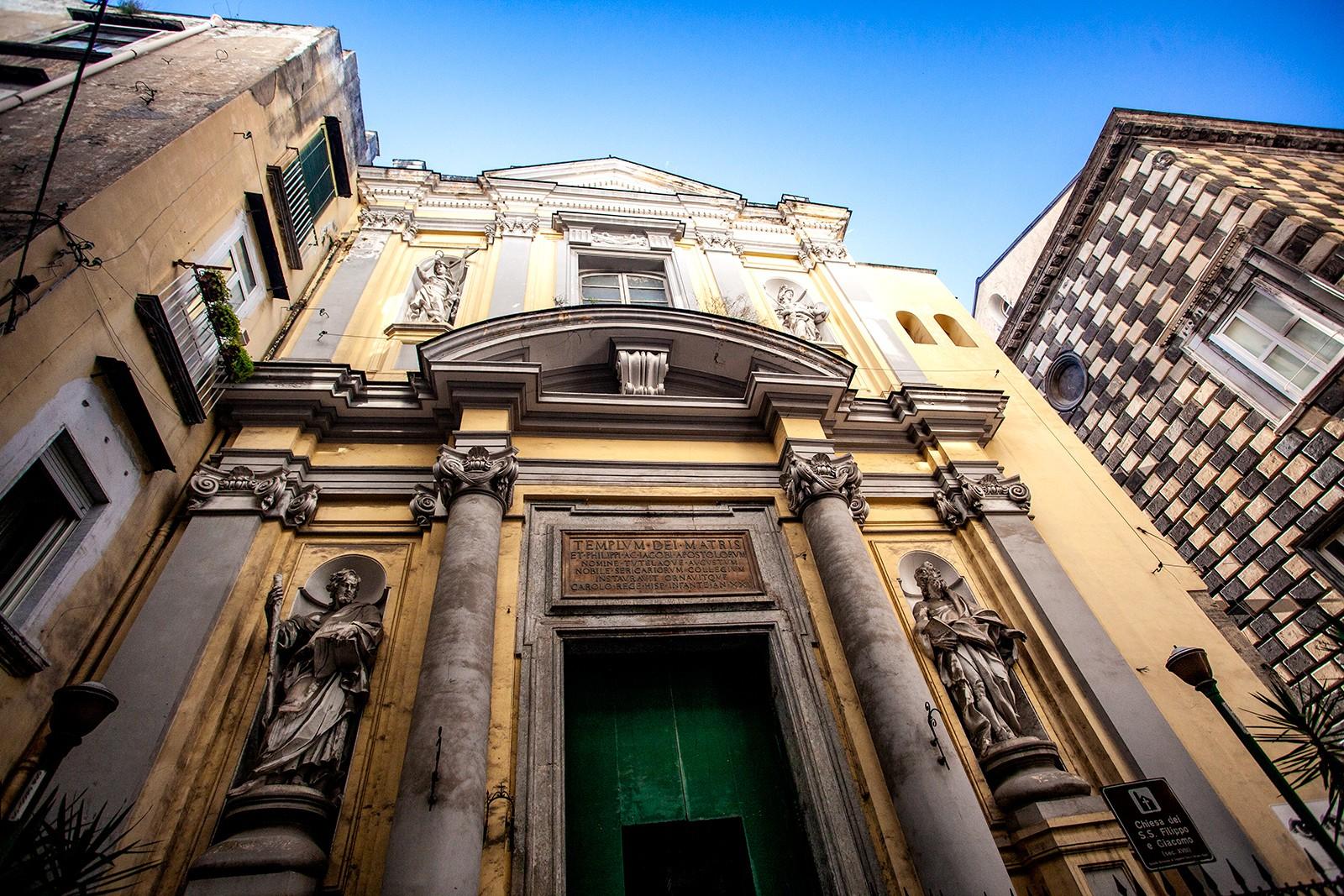 Голям стар град в Неапол